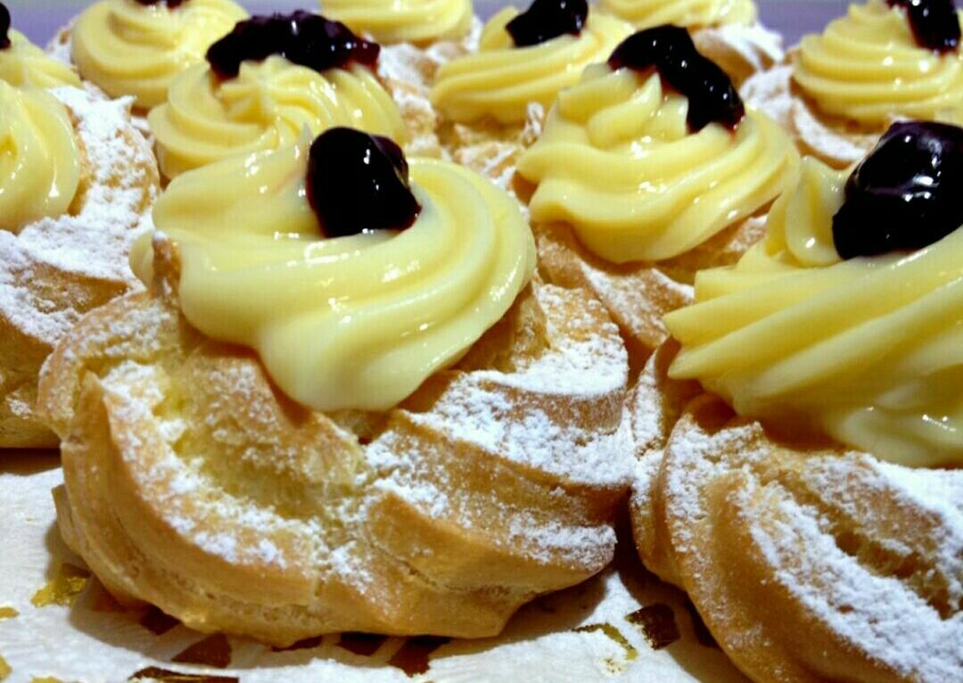 Ricetta Zeppole E Bigne.Zeppole Di San Giuseppe Senza Burro 1 2 3 Cucina Con Me